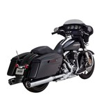 "Vance & Hines Titan 4 1/2"" Oversized Slip-On Mufflers For Harley Touring"
