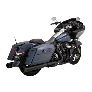 """Vance & Hines 4 1/2"""" Raider Oversized Slip-On Mufflers For Harley Touring 2017"""