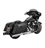 "Vance & Hines Raider 4 1/2"" Oversized Slip-On Mufflers For Harley Touring"