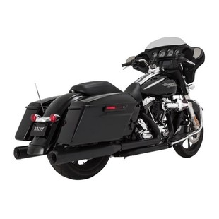 "Vance & Hines 4"" Eliminator Slip-On Mufflers For Harley Touring 2017"