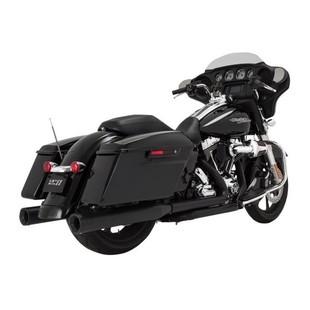 "Vance & Hines 4"" Eliminator Slip-On Mufflers For Harley Touring"
