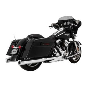 "Vance & Hines 4"" Eliminator Slip-On Mufflers For Harley Touring"