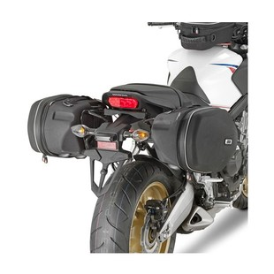 Givi TE1137 Easylock Saddlebag Supports Honda CBR650F 2014-2015 [Previously Installed]