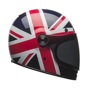 Bell Bullitt Carbon Motorcycle Spitfire Helmet