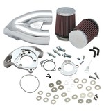 S&S Single Bore Tuned Induction Kit For Harley EFI