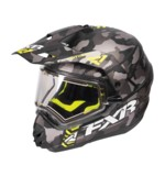 FXR Torque X Squadron Helmet - Electric Shield