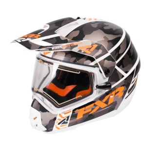 FXR Torque X Squadron Helmet - Electric Shield