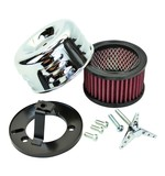 TC Bros Louvered Air Cleaner For Harley S&S Super E / G