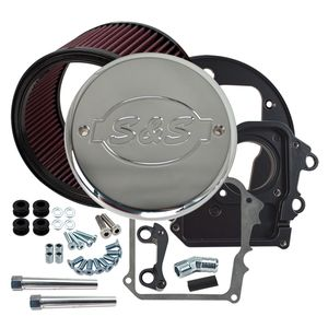 S&S High Flow Air Cleaner With Cover For Indian 2014-2018