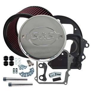 S&S High Flow Air Cleaner With Cover For Indian Chief 2014-2016