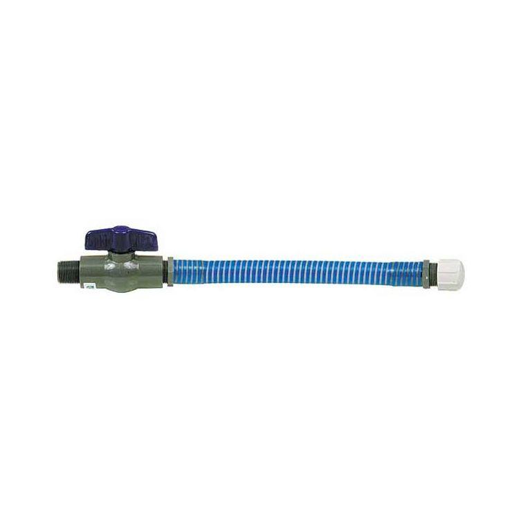 LC / LC2 Spiral Tech Hose W/ Flow Control Valve