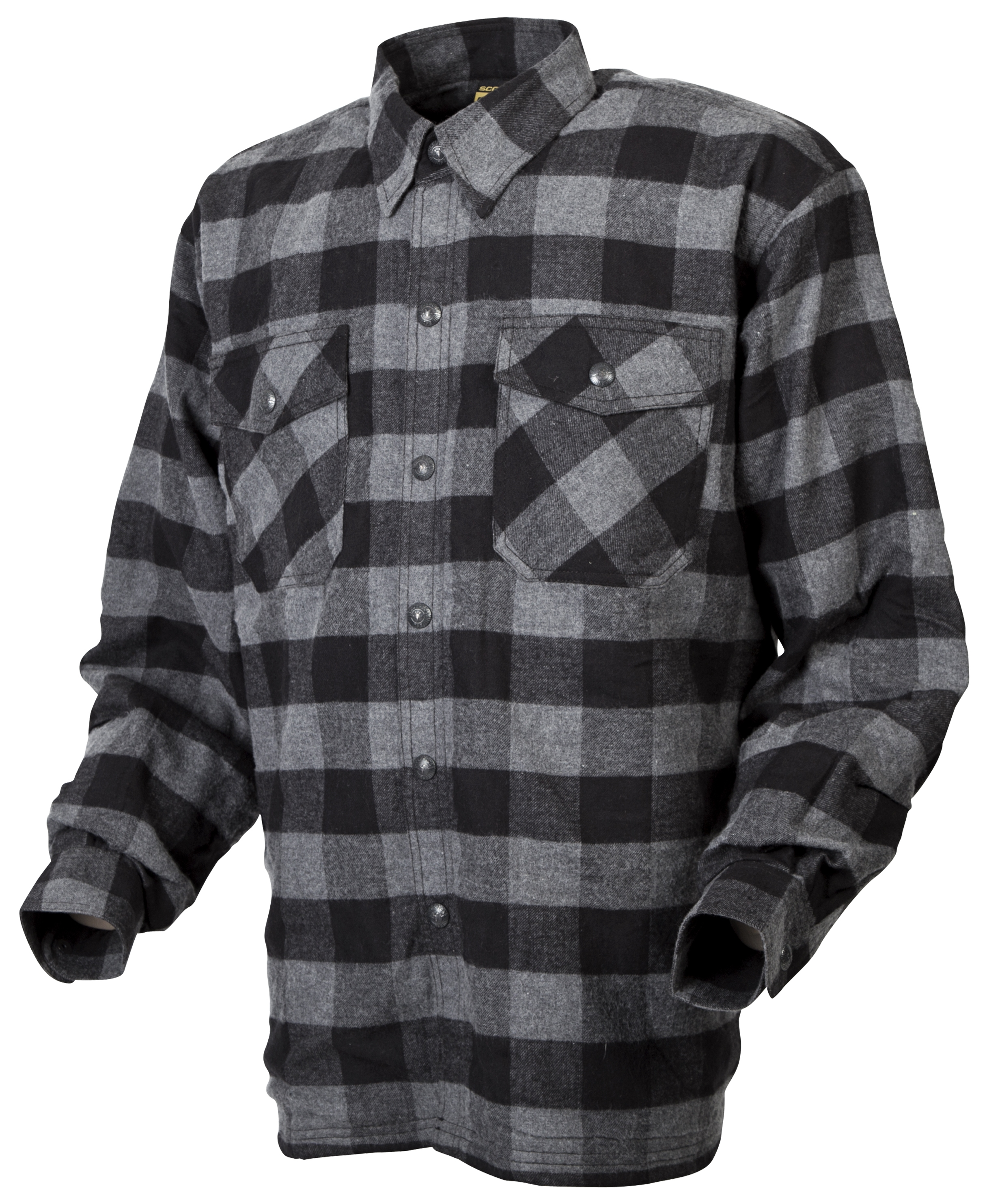 Scorpion covert flannel shirt revzilla for What are flannel shirts made of