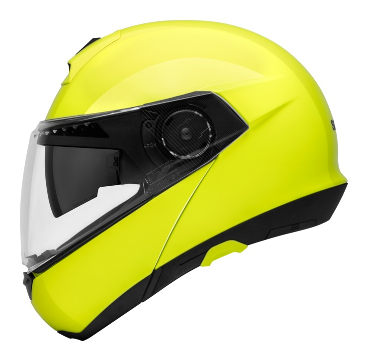 schuberth c4 hi viz helmet revzilla. Black Bedroom Furniture Sets. Home Design Ideas