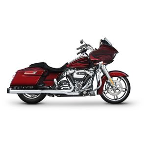 "Rinehart 4"" Slip-On Mufflers For Harley Touring 2017-2018"