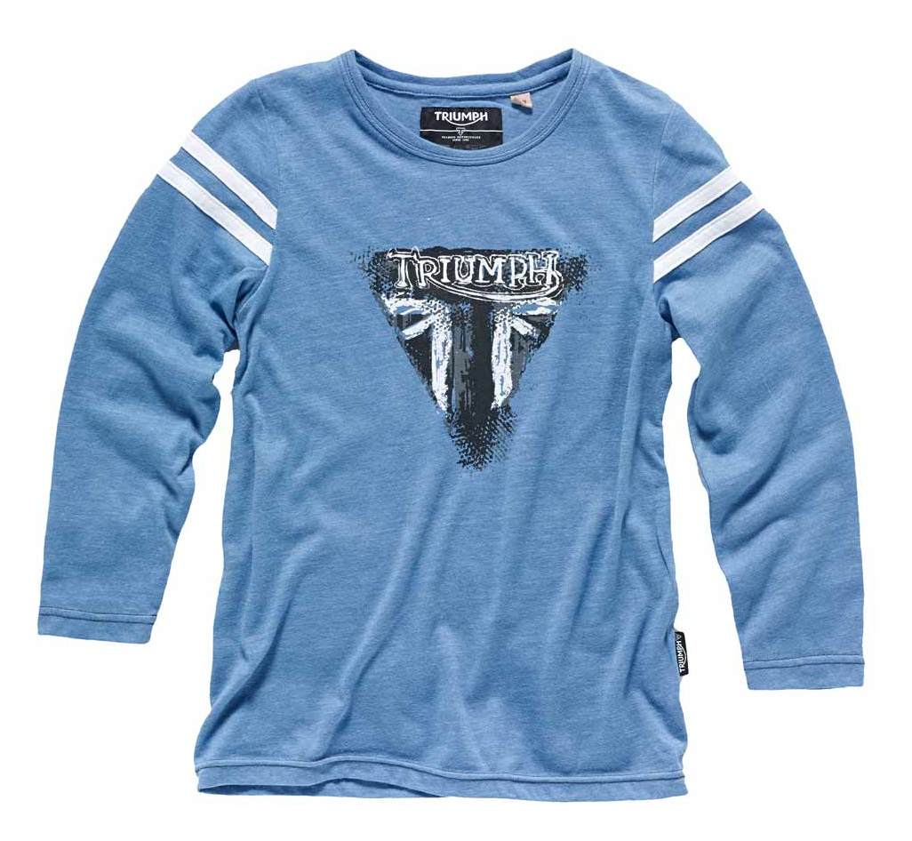 Triumph Kids Max Long Sleeve T Shirt Revzilla