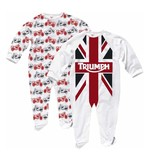 Triumph Kids GB Flag Sleep Suit Set
