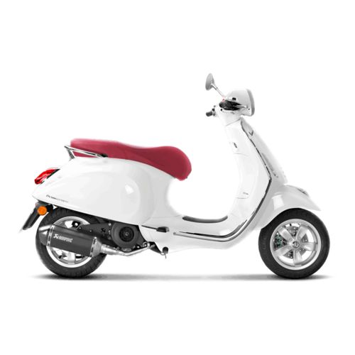 akrapovic exhaust system vespa primavera 150 iget sprint. Black Bedroom Furniture Sets. Home Design Ideas