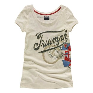 Triumph Denim Bike Print Women's T-Shirt