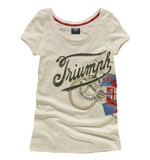 Triumph Denim Bike Print Women's T-Shirt