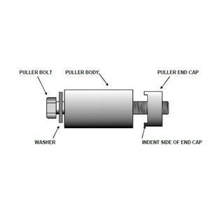 Motion Pro Swingarm Bearing Puller For HD