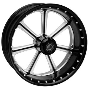 "Roland Sands 23"" x 3.5"" Diesel Front Wheel For Dual Disc Harley Touring 2008-2013"