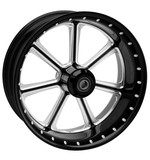 """Roland Sands 23"""" x 3.5"""" Diesel Front Wheel For Dual Disc Harley Touring 2008-2013"""