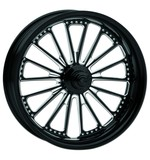 """Roland Sands 23"""" x 3.5"""" Domino Front Wheel For Dual Disc Harley Touring 2008-2013"""