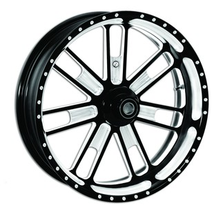 "Roland Sands 23"" x 3.5"" Slam Front Wheel For Dual Disc Harley Touring 2008-2013"