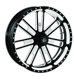 """Roland Sands 23"""" x 3.5"""" Slam Front Wheel For Dual Disc Harley Touring 2008-2013"""