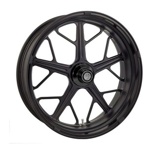 """Roland Sands 23"""" x 3.5"""" Hutch Front Wheel For Dual Disc Harley Touring 2008-2013"""