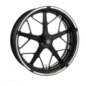 "Roland Sands 23"" x 3.5"" Hutch Front Wheel For Dual Disc Harley Touring 2008-2013"