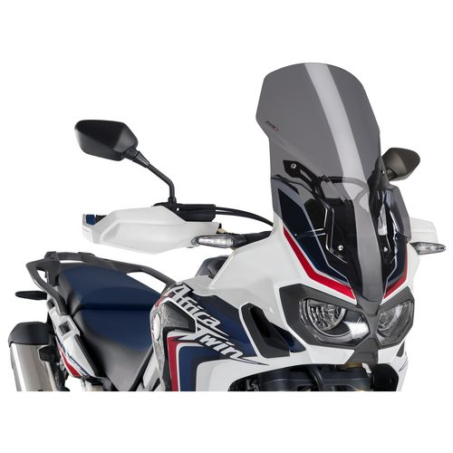 puig touring windshield honda africa twin 2016 2017 revzilla
