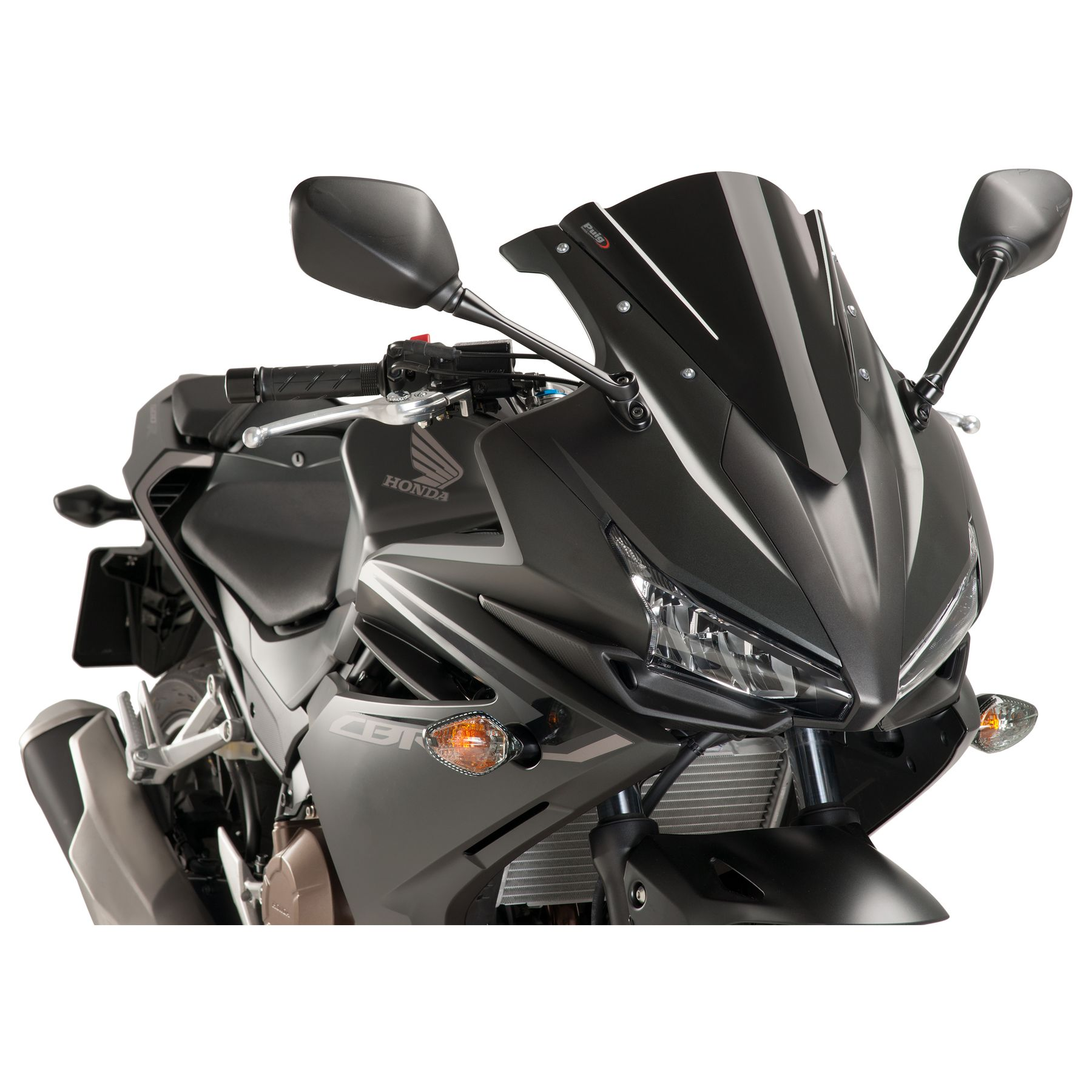 Handle Bar End Rear Mirrors For Honda CBR500R//CB500F//X RC51 RVT1000