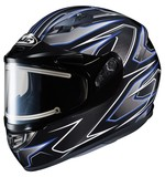 HJC CS-R3 Spike Snow Helmet - Electric Shield