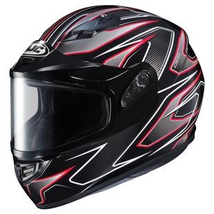 HJC CS-R3 Spike Snow Helmet - Dual Lens