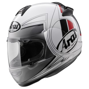 Arai Vector 2 Loop Helmet White/Black/Red / XL [Blemished - Very Good]