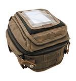 Burly Waxed Canvas Tank / Tail Bag