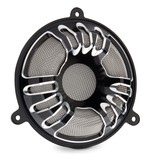 Arlen Ness Deep Cut Front Speaker Grills For Harley Touring 2014-2017