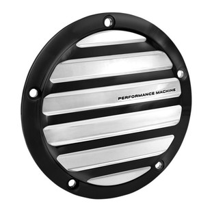 Performance Machine Drive Derby Cover For Twin Cam Harley 1999-2017 Platinum Cut [Blemished - Very Good]