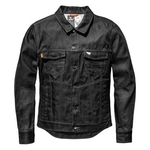 The Speed and Strength Overhaul Denim Motorcycle Jacket will keep you looking and feeling good on or off the bike. You will ride comfortably and in style when wearing this denim jacket. This motorcycle jacket will protect riders and provide them with a.