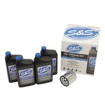 S&S Cycle Oil Change Kit For Harley Big Twin 1999-2017