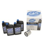 S&S Cycle Oil Change Kit For Harley 1984-2017