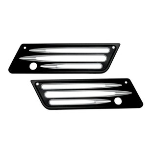 Arlen Ness Deep Cut Saddlebag Latch Covers For Harley Touring