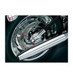 Kuryakyn Phantom LED Axle Covers For Harley Softail 2008-2017