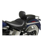 Mustang Wide Rear Passenger Seat For Harley Softail Deluxe 2005-2017