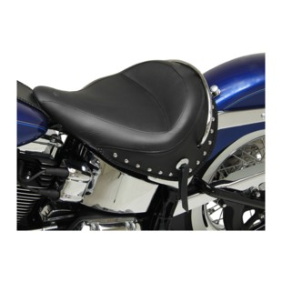 Mustang Wide Solo Seat For Harley Softail Deluxe 2005-2017