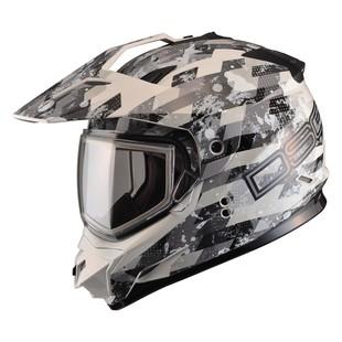 GMax GM11S DSG Checked Out Snow Helmet - Dual Lens