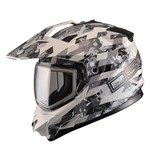 GMax GM11S DSG Checked Out Snow Helmet - Dual Lens