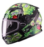 GMax Youth GM49 Attack Snow Helmet - Dual Lens