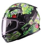 GMax Youth GM49 Attack Snow Helmet - Dual Lens